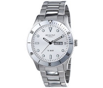 Armbanduhr XL Analog Quarz Edelstahl 11150578