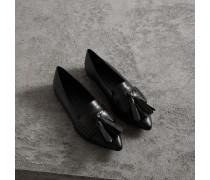 Loafer aus Leder mit Troddeln