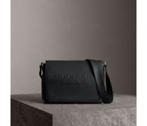 Mittelgroße Messenger-Tasche aus Leder