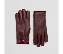 Handschuhe aus Lammleder und Samt