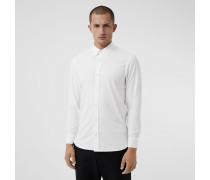 Hemd aus Stretch-Baumwollpopelin