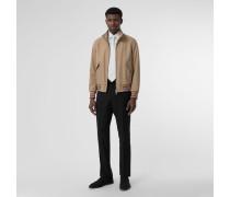 Harrington-Jacke aus Baumwollgabardine