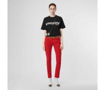 """Oversize-T-Shirt mit """"Kingdom""""-Schriftzug"""