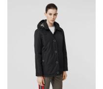 Jacke aus ECONYL mit abnehmbarer Kapuze
