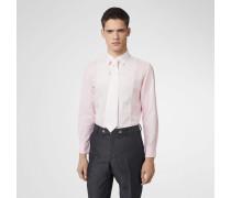 Set mit Hemd und Krawatte aus Baumwollleinen