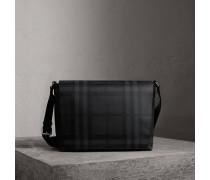 Große Messenger-Tasche mit London Check-Muster