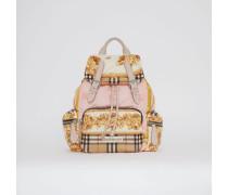 The Medium Rucksack mit Vintage-Aufdruck