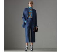 Jersey-Bodysuit im Vintage Check-Design