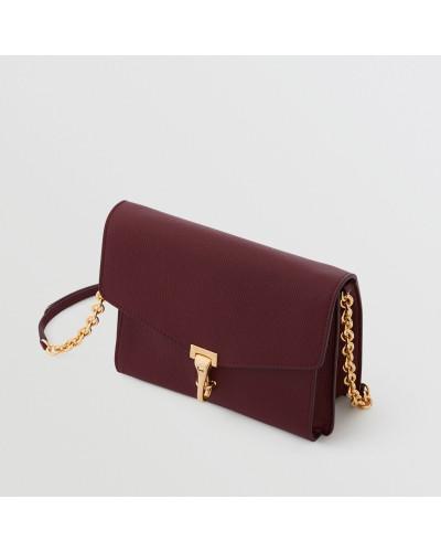 Kleine Crossbody-Tasche aus Leder