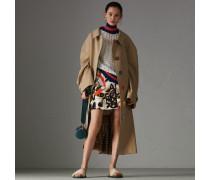 Minirock aus Seide und Wolle im Vintage-Schaldesign