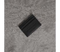 Kartenetui aus strukturiertem Leder