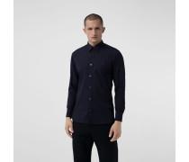 Hemd aus Stretchbaumwolle