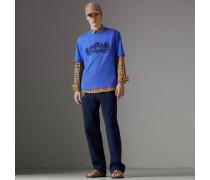 T-Shirt aus Baumwolle in einer Neuauflage