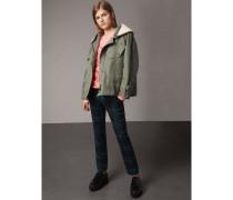 Jacke aus Ramie und Baumwolle