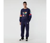 Sweatshirt im Colour-Blocking-Design