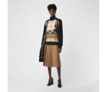 Sweatshirt mit Vintage-Aufdruck-Panel