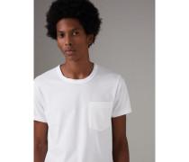 T-Shirt aus Baumwolljersey mit Taschendetail