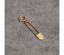 Kiltnadel-Schlüsselanhänger aus Messing