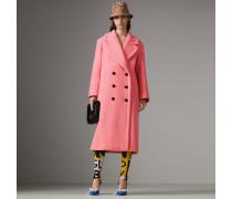 Oversize-Mantel aus doppelseitig gewebter Wolle und Kaschmir