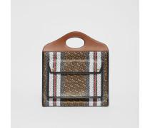Mittelgroße Pocket Bag aus Eco-Canvas