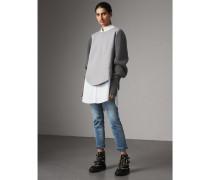 Sweatshirt aus einer Baumwollmischung