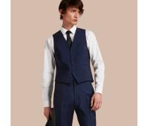 Körperbetonter Waistcoat aus Wolle und Mohair