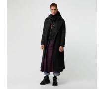 Eleganter Mantel aus doppelseitig gewebtem Kaschmir