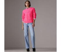 Stonewashed-Jeans mit gerader Passform