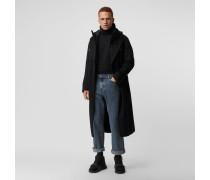 Stonewashed-Jeans mit legerer Passform