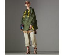 Oversize-Regenjacke aus Nylon