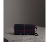 Brieftasche aus Baumwolle und Leder