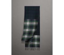 Schal aus Merinowolle mit Karomuster