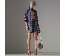 Pullover aus Seide und Kaschmir im Colour-Blocking-Design
