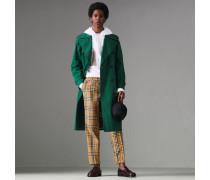 Hose aus Baumwolle mit Vintage Check-Muster