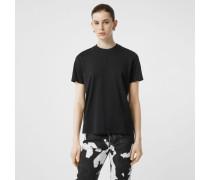 Baumwoll-T-Shirt mit Monogrammmotiv