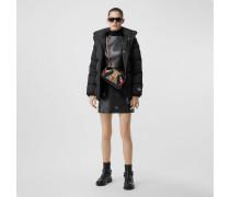 Wattierte Jacke aus ECONYL mit abnehmbarer Kapuze