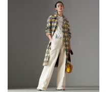 Pullover aus Seide und Kaschmir mit Grafikmotiven