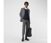 Elegante Hose aus Wolle und Kaschmir in klassischer Passform