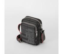 Kleine Crossbody-Tasche aus London Check-Gewebe