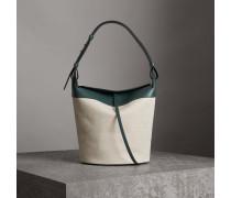 Die Tasche Large Bucket aus Baumwolle und Leinen