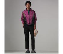 Leichte Jacke im Colour-Blocking-Design