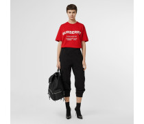 Oversize-T-Shirt mit Horseferry-Aufdruck