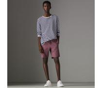 Elegante Shorts aus Baumwolle mit Vichy-Muster