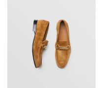 The Link Loafer aus Veloursleder