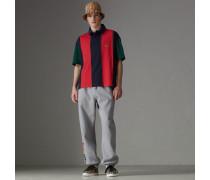 Gestreiftes Baumwoll-Poloshirt in Neuauflage
