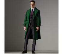 Modern geschnittener Part-Canvas-Anzug aus Wolle