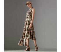 Ärmelloses Kleid aus Georgette