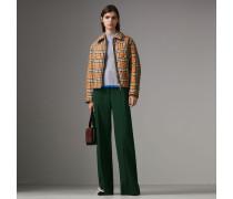 Jacke in Rautensteppung mit Vintage Check-Muster