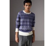 Pullover aus Wolle und Kaschmir im Fair Isle-Design