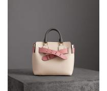 The Small Belt Bag aus Leder in Dreitonoptik